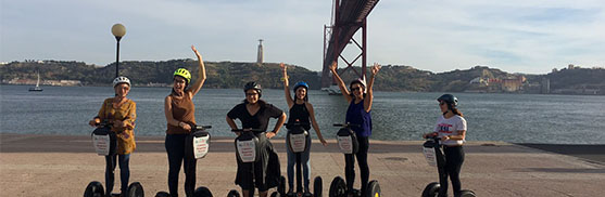 lisbon segway tours bachelorette hen party girls1