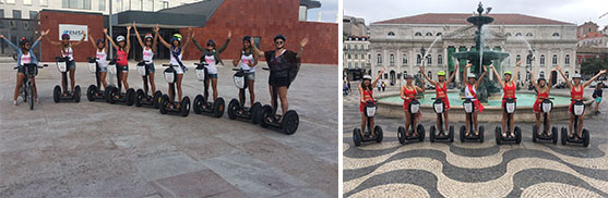 lisbon segway tours bachelorette hen party girls5